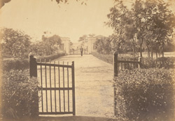 Southern entrance to the Residency at Bhuj
